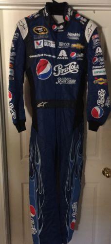2014 Jeff Gordon 24 Pepsi AUTOGRAPHED Race Used NASCAR Driver Firesuit Daytona
