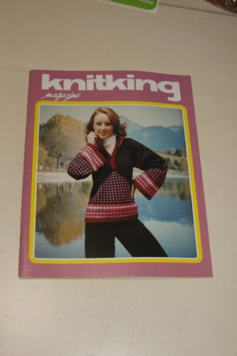 Knitking Magazine 1977 Vol 13 No 2 Knitting Machine Pattern