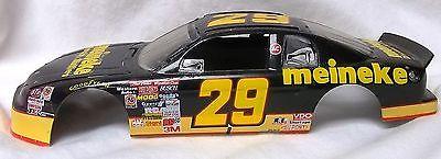 BODY - #29 MIENEKE 1995-1996 MONTE CARLO NASCAR RACE CAR BODY & GLASS- 1/24