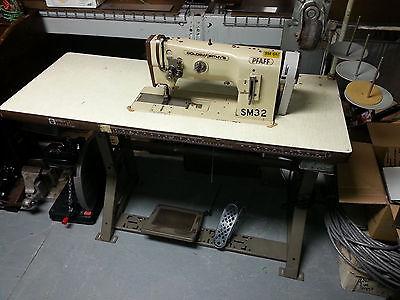 pfaff Double Needle Walking Foot Industrial Sewing Machine 1246