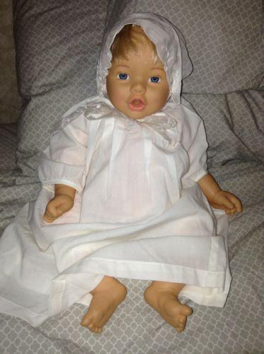 Blonde Blue Eyed  Lifelike Realistic Baby Doll