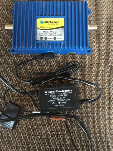 Wilson Cellular Mobile Wireless Dual-Band Amplifier 800/1900 MHz