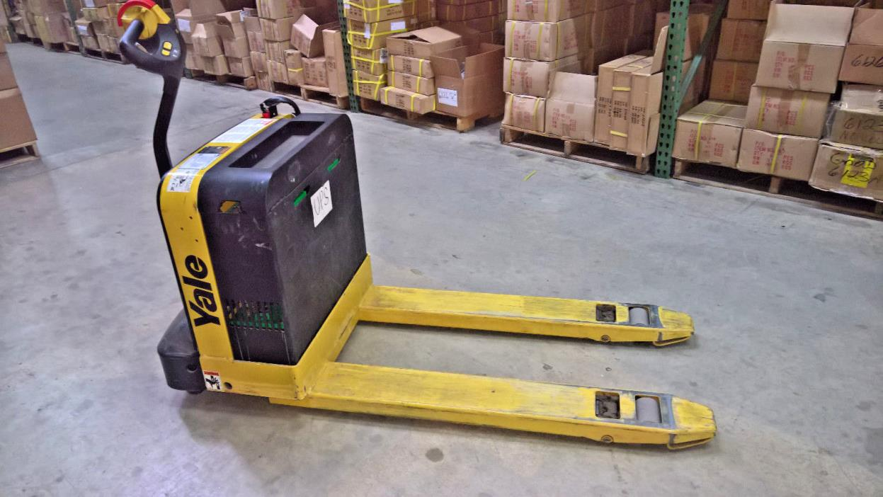 Yale electric pallet jack for sale classifieds