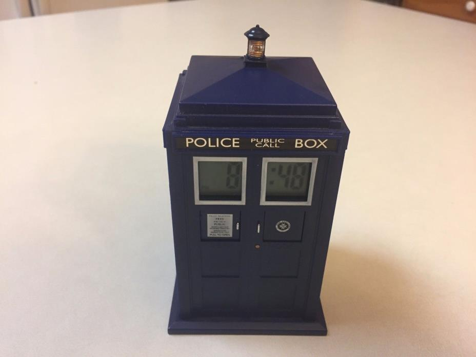 Dr who clock for sale classifieds - Tardis alarm clock ...