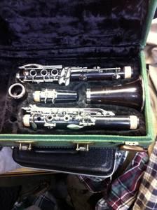 Clarinet - Noblet, Paris Wood (Springfield)