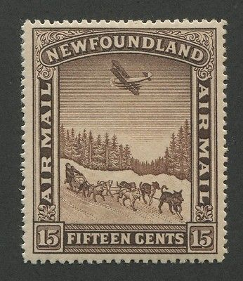 NEWFOUNDLAND AIRMAIL C6 MINT VF