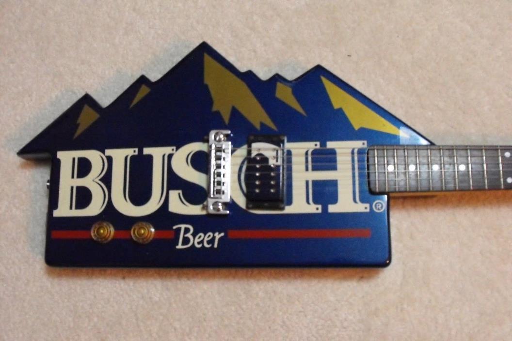 1980's Busch Beer Dean Guitar
