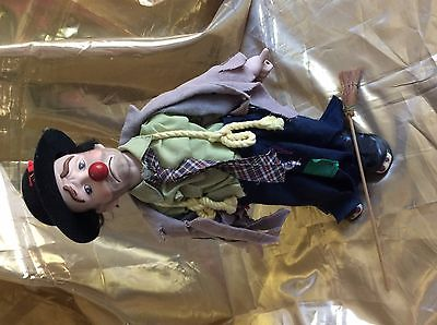 Emmett Kelly Jr. Collectible Doll With Stand