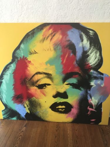 steve kaufman RARE Marilyn ??awesome????????bought For $25,000 Final Sale $15000