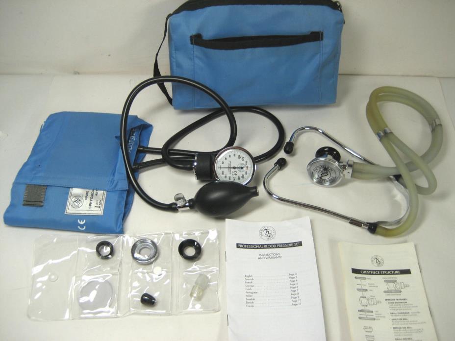 blood pressure cuff instructions
