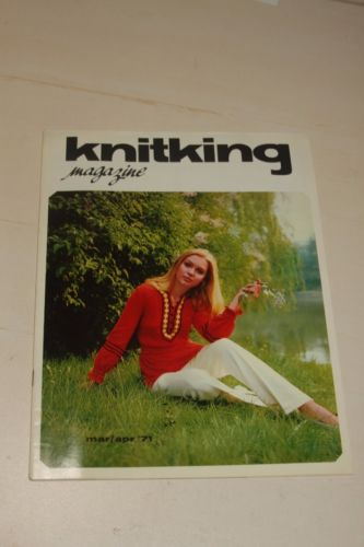 Knitking Magazine Mar/Apr 1971 Knitting Machine Pattern