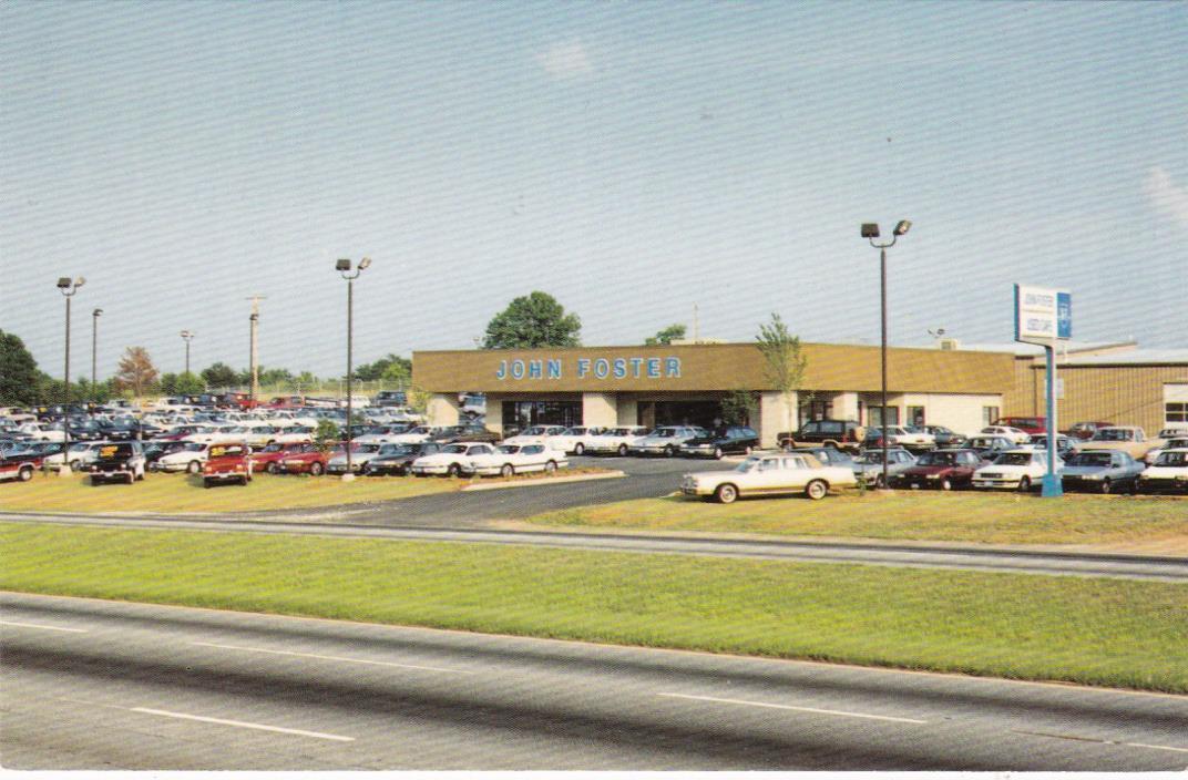 EASLEY , South Carolina , 1960s ; John Foster Ford Car Dealership