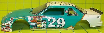 BODY - #29 1989-1992 LUMINA NASCAR RACE CAR BODY & GLASS- 1/24