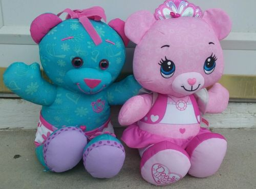 Set of 2 Fisher Price Doodle Bear