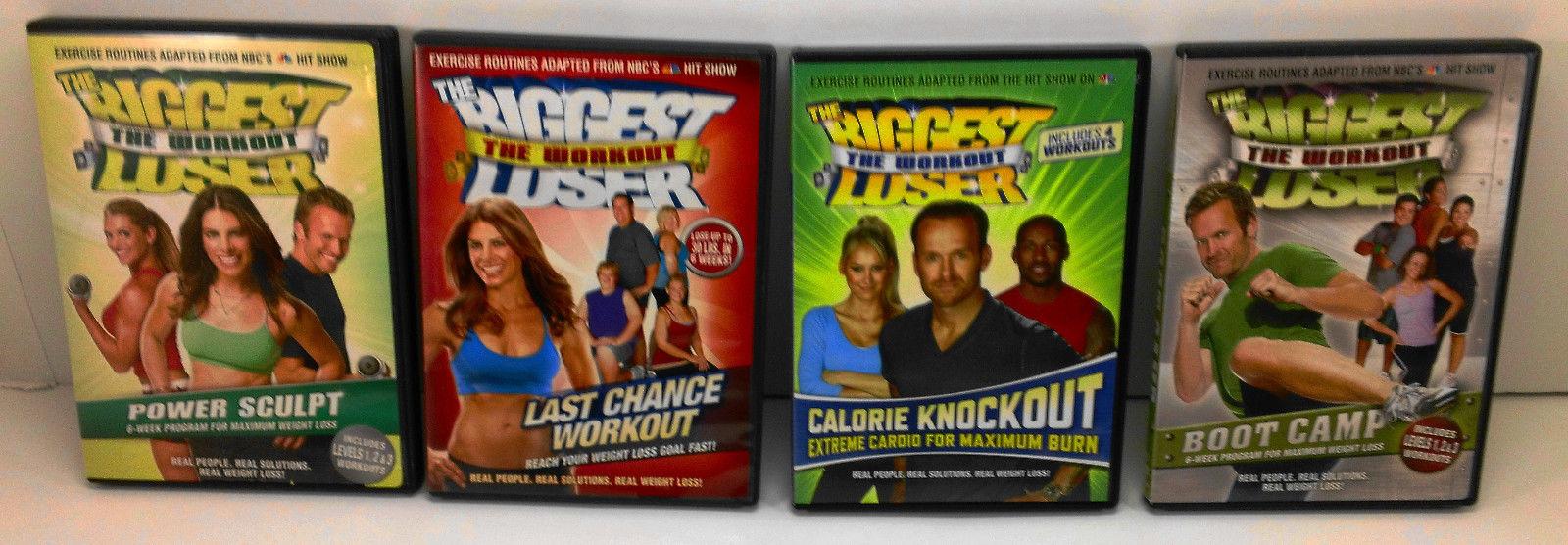 Biggest Loser Workout Fitness DVDs