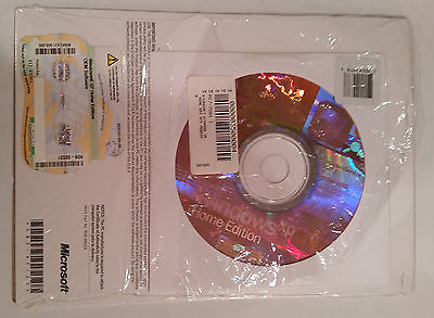 WINDOWS XP HOME EDITION SP2 OEM CD & COA WITH BROKEN DELL LAPTOP