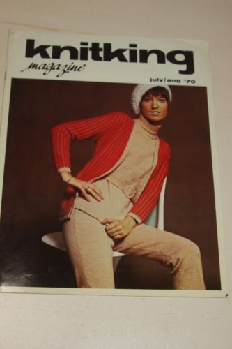 Knitking Magazine July/Aug 1970 Knitting Machine Pattern