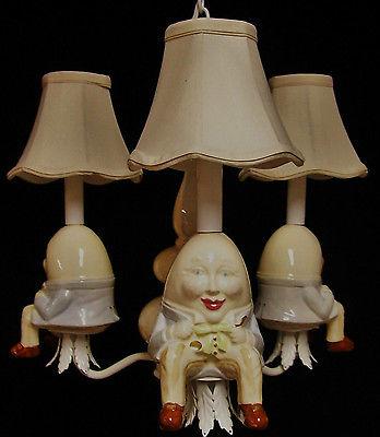 Nursery Chandelier -  Humpty Dumpty - Nursery Rhyme Decor