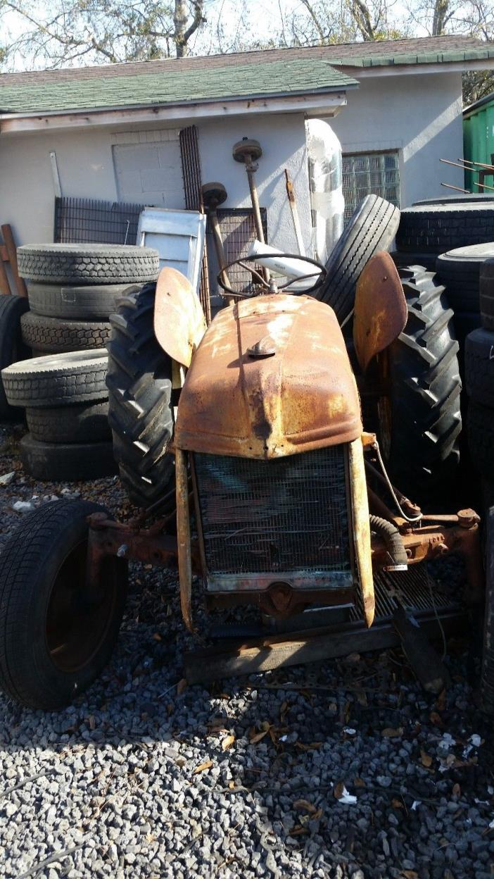Antique Vintage 1950 Ford 9N Tractor