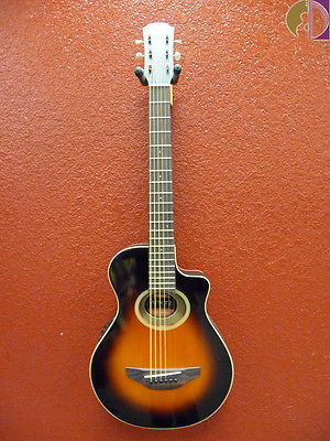 Yamaha APXT2 3/4 Size Acoustic Electric Guitar, Old Violin Sunburst, w/ Gig Bag
