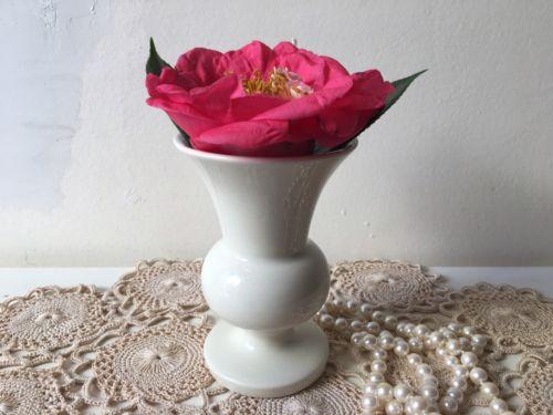 Vintage Vase Pottery Shabby Chic Cottage Decor EUC Small Vase Country Living