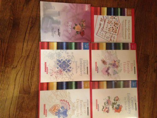 bernina artista embroidery cards