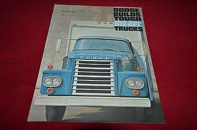 Dodge Medium Tonnage Diesel Trucks For 1962 Dealer's Brochure YABE11 VER90