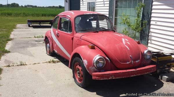 1974 Classic Volkswagen Super Beetle