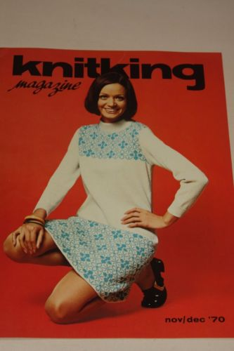 Knitking Magazine Nov/Dec 1970 Knitting Machine Pattern