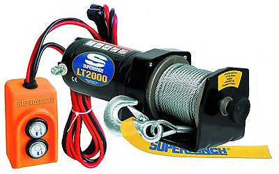 Utility Winch 12 Volt 2,000 lbs Pull Rating