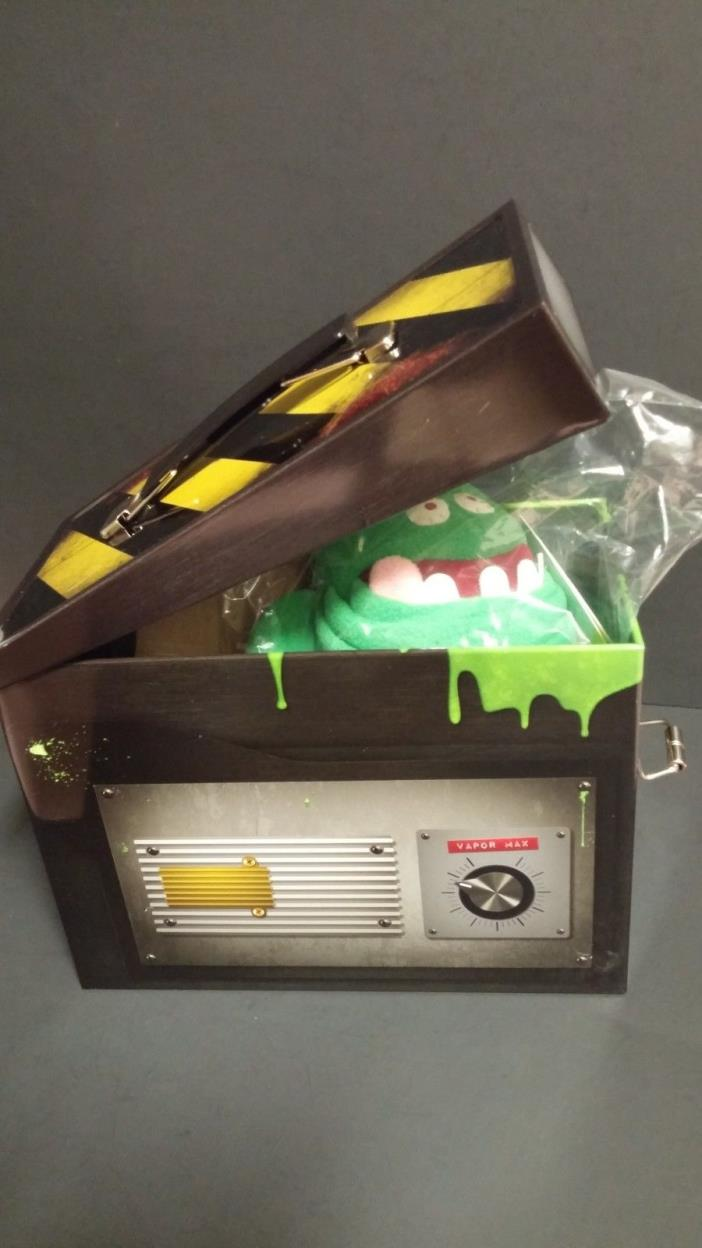 Ghostbusters Ghost Trap Includes Tin Ghost Trap and Stuffed Slimer. NEW. FREE SH