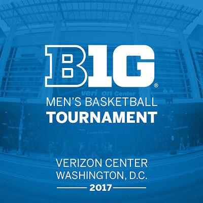 2017 Big Ten Basketball Tournament Tickets Session 2, Sec 102 Row F, 1 or 2 tix