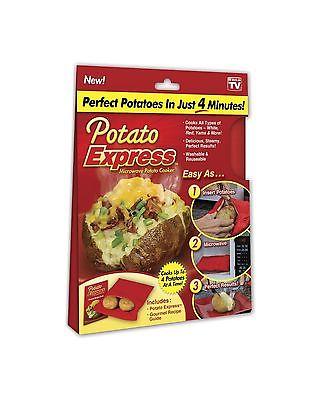 Potato Express - Microwave Potato Cooker. Perfect Potatoes in 4 Minutes!