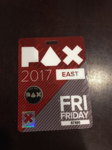 PAX East 2017 Friday Pass
