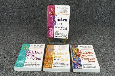 Chicken Soup For The Soul Set By Jack Canfield & Mark Victor Hansen - 4 Items