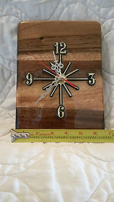 Handmade  Wood Wall Clock