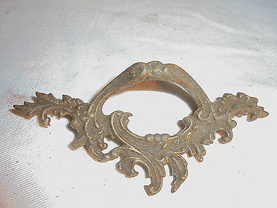 Antique Victorian drawer pull #A101