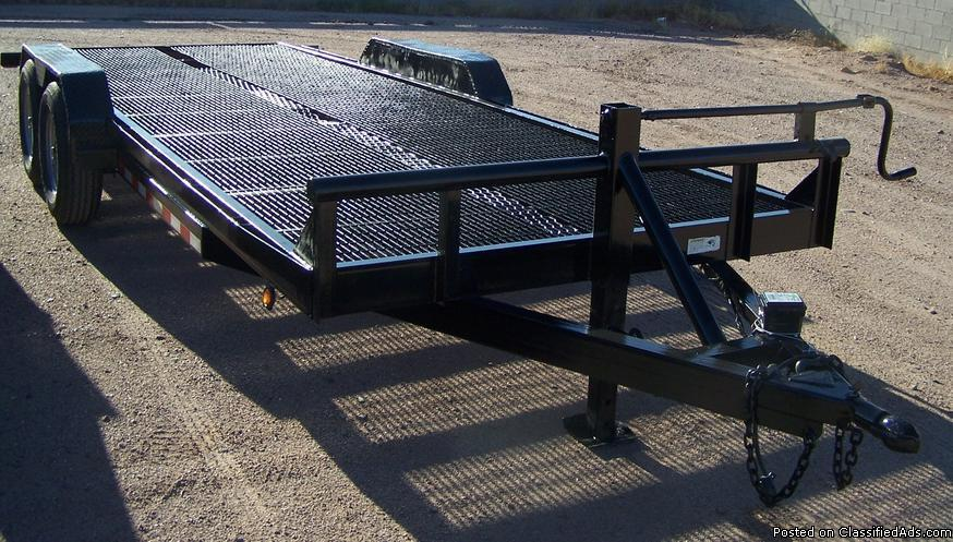 2008 Kearney Steel Deck Trailer