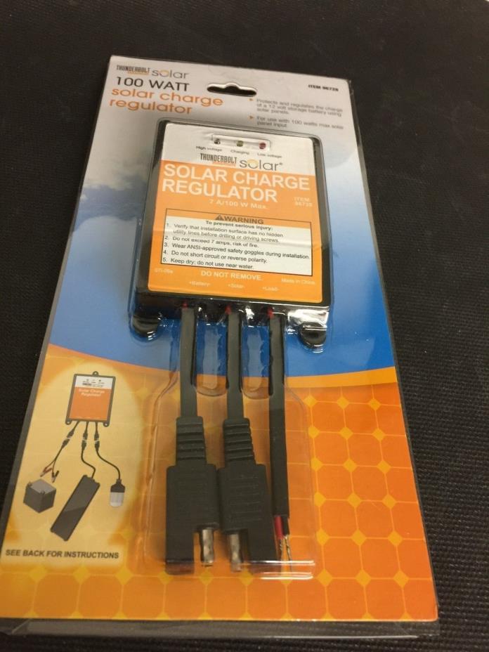 Thunderbolt Solar Charge Regulator