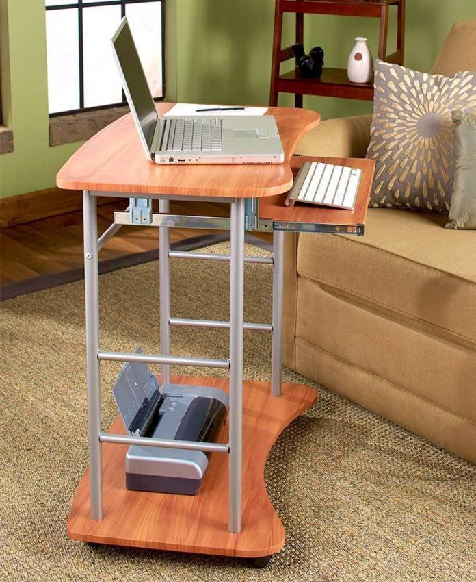 Rolling Computer Desk