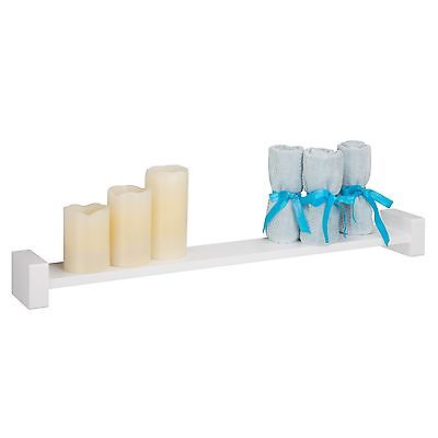 Honey Can Do Large White H Shaped Wall Shelf