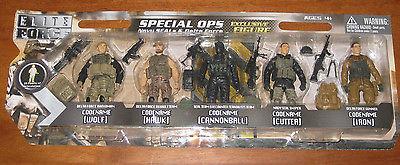 """1:18 BBI Elite Force US SPECIAL FORCES navy seal delta Figure Soldat 3 3//4/"""""""