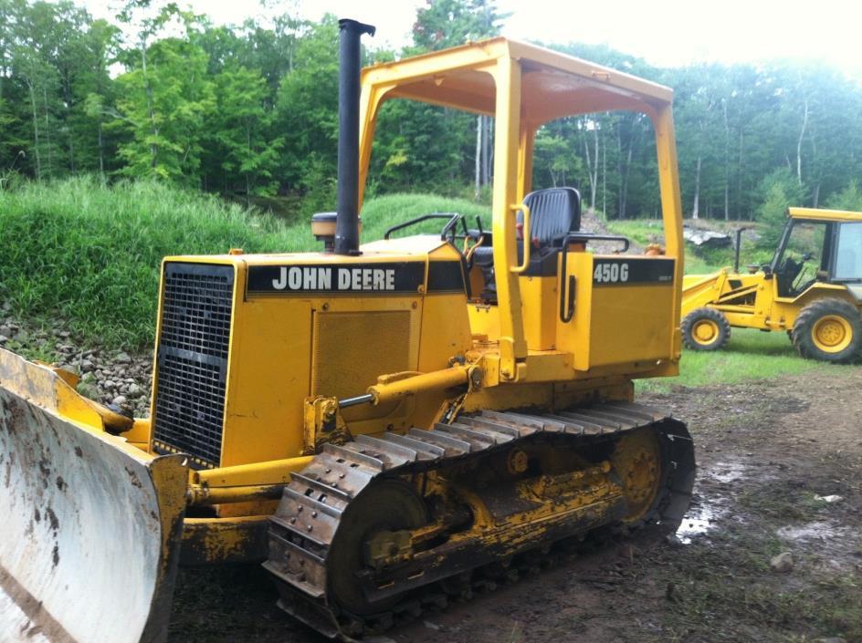 John Deere 450G dozer low hours