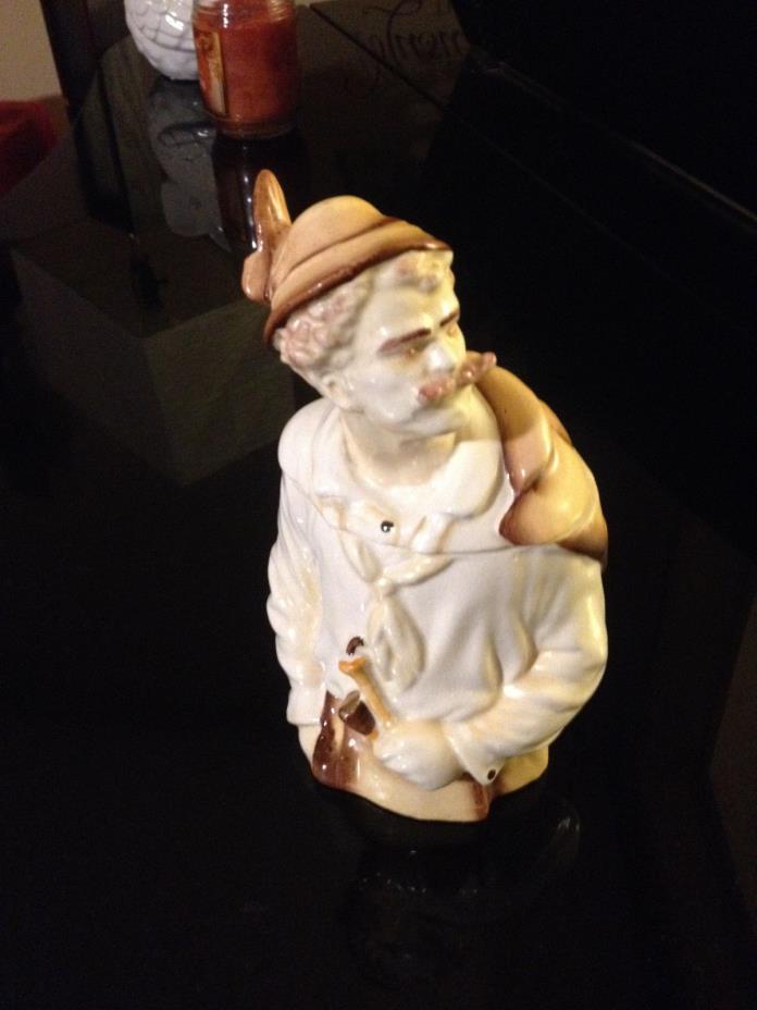 Rare Vintage Ardalt Porcelain Humidor Tobacco Jar