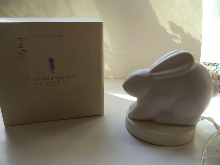 Pottery Barn Kids Glowing Bunny Lamp