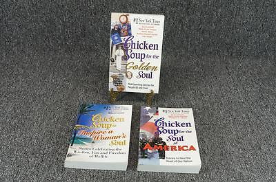 Chicken Soup For The Soul Set - By Jack Canfield & Mark Victor Hansen - 3 Items