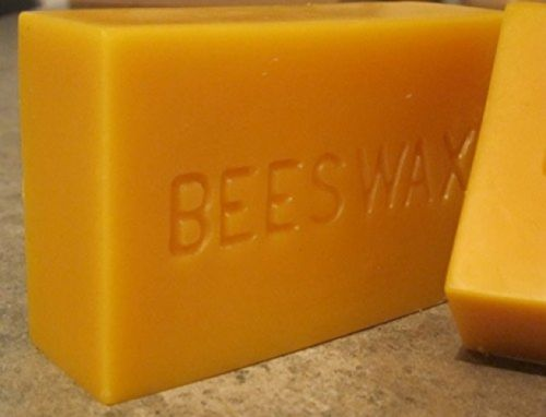 Yellow Beeswax Bar-1LB Block By Beesworks 100% Pure Cosmetic Grade Home Decors