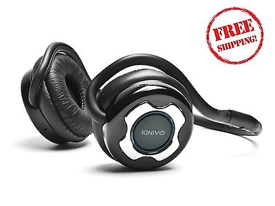 Kinivo Bluetooth Stereo Headphone Supports Wireless Music Stream Rechargeable