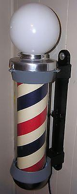 Vintage 1930s Koken Barber Pole, Antique