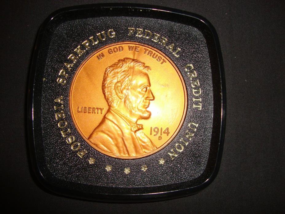Facsimile 1914D Lincoln Penny Coaster